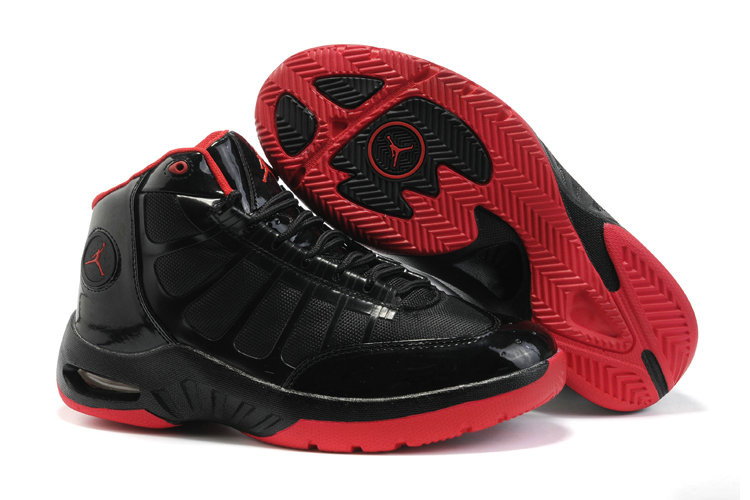 Jordan Play In These Shoes red/black