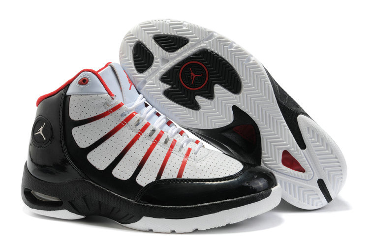 Jordan Play In These Shoes white/black/red
