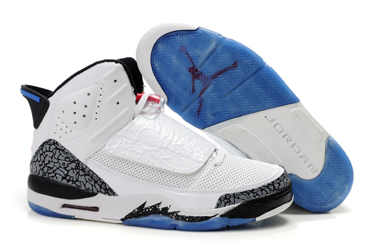 Jordan Son Of Mars black/white/blue