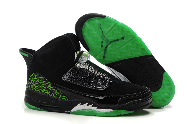 Jordan Son Of Mars black/white/green