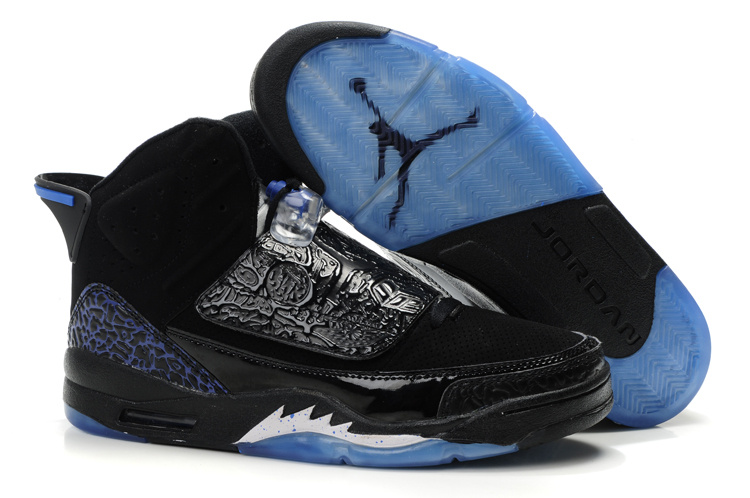 Jordan Son Of Mars black/white/blue II