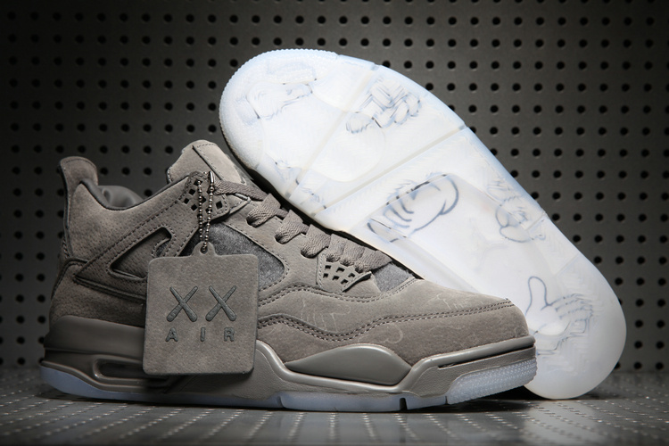 KAWS x Air Jordan 4 Cool Grey