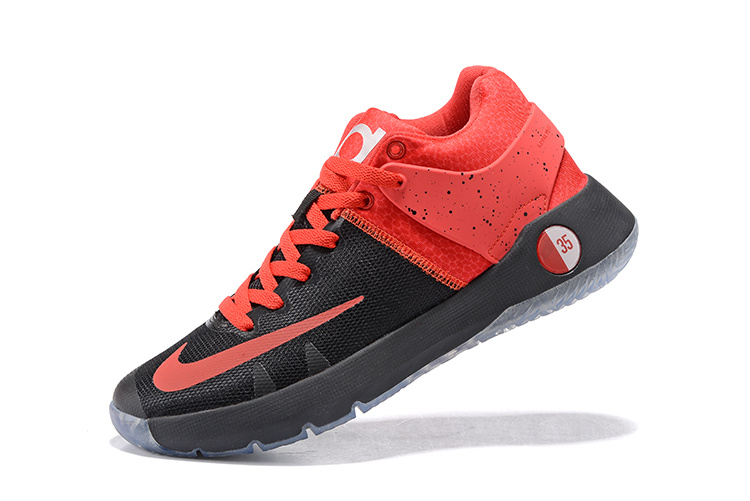 KD Trey 5 IV Premium Black/Metallic Silver/Bright Crimson
