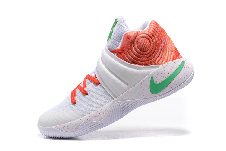 Kyrie 2 green/orangered/white