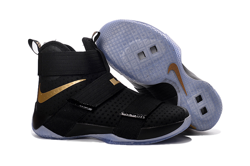 Nike Zoom LeBron Soldier 10 black/golden