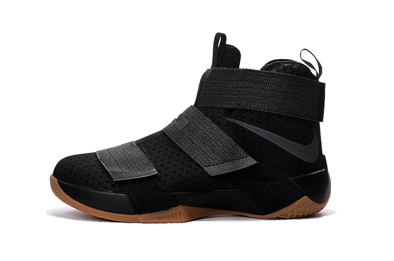 Nike Zoom LeBron Soldier 10 black/gray
