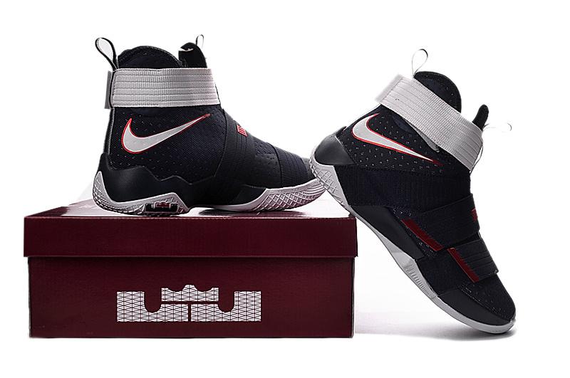 new style b6498 114f8 ... Nike Zoom LeBron Soldier 10 blackredwhite. larger image ...