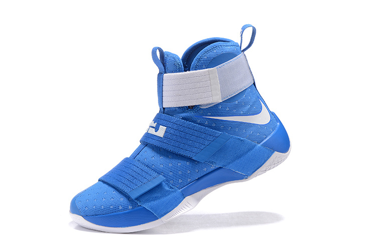 Nike Zoom LeBron Soldier 10 deepskyblue/white