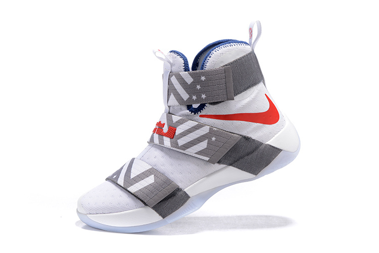 Nike Zoom LeBron Soldier 10 gray/white