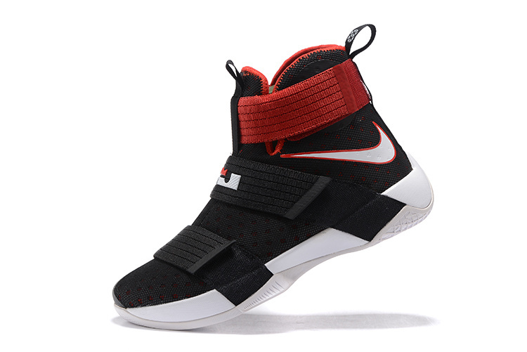 Nike Zoom LeBron Soldier 10 black/white/red