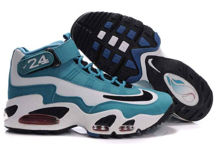 Womens Air Griffey Max 1 black/white/darkturquoise