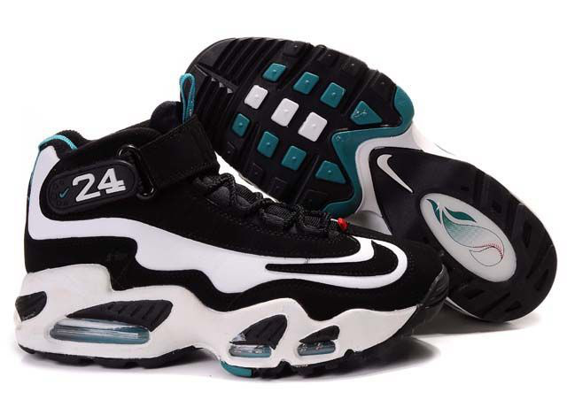 Womens Air Griffey Max 1 black/white/darkturquoise II