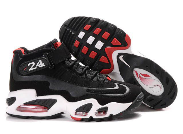 Womens Air Griffey Max 1 black/white/red
