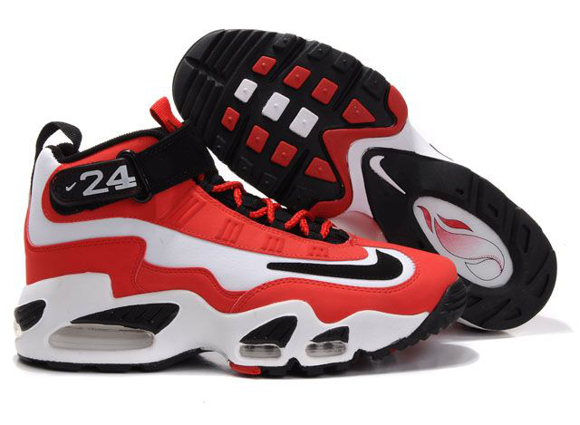 Womens Air Griffey Max 1 black/white/red II