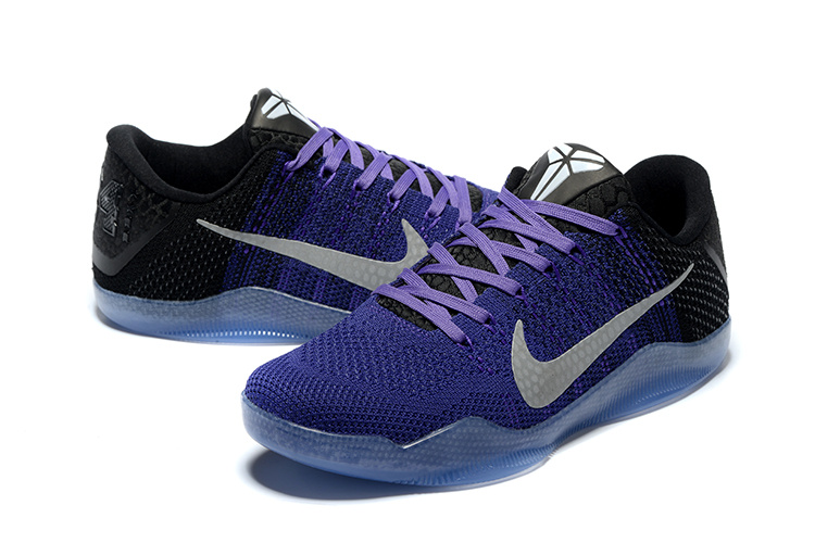 Kobe XI black/Lakers purple