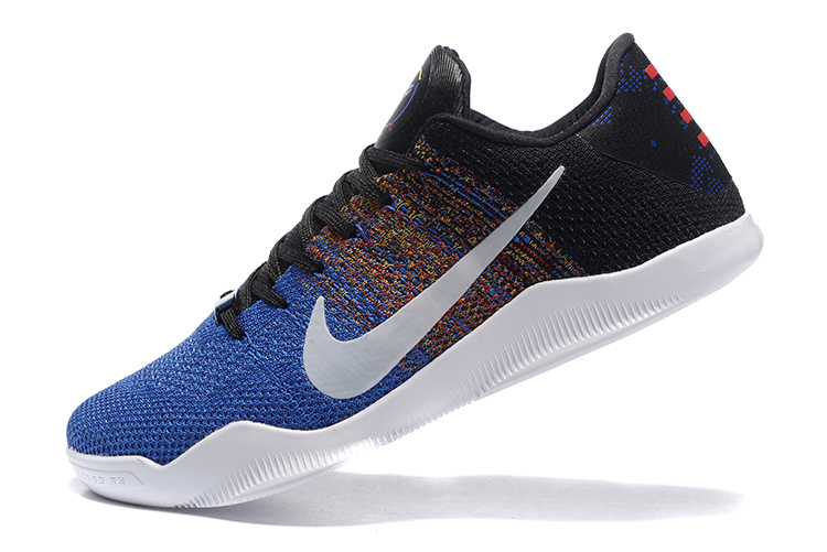 Kobe XI black/blue/rainbow