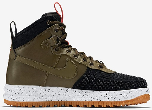 Nike Lunar Force 1 Duckboot Boot white/black/Mocha