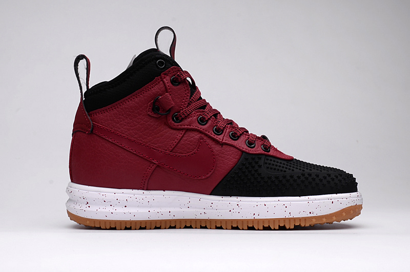 Nike Lunar Force 1 Duckboot Boot white/black/Burgundy