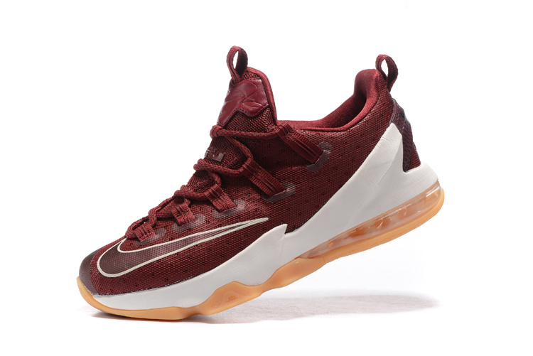 LeBron XIII Low Team Red/Black/Sail