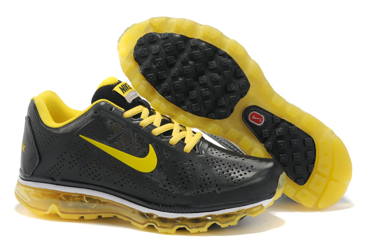 New Nike Air Max 2011 black/gold