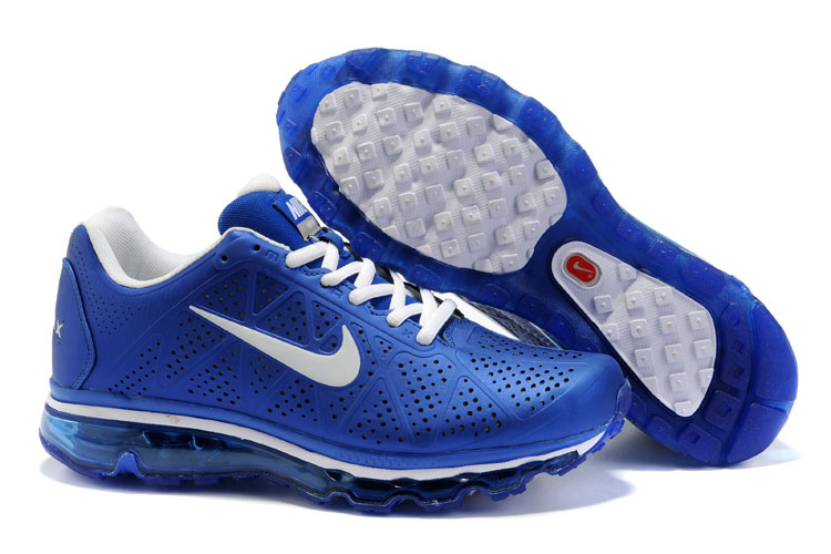 New Nike Air Max 2011 blue/white