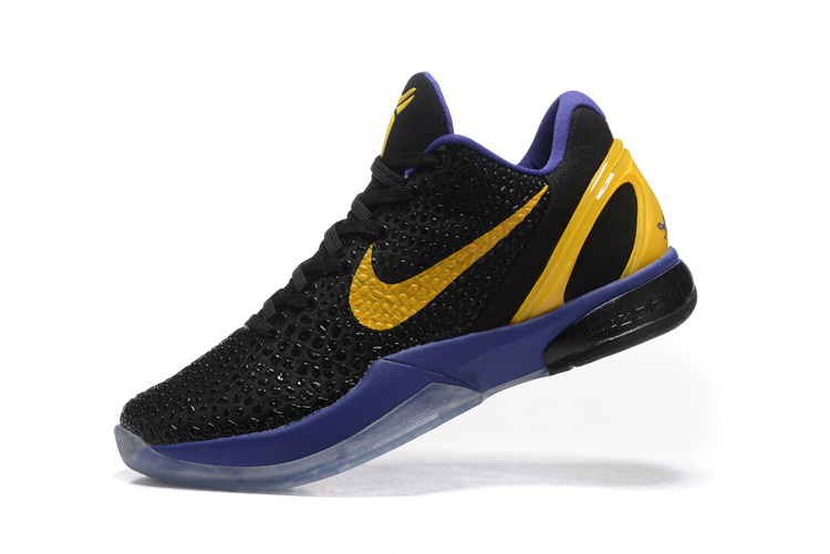 Nike Zoom Kobe VI TB black/yellow II