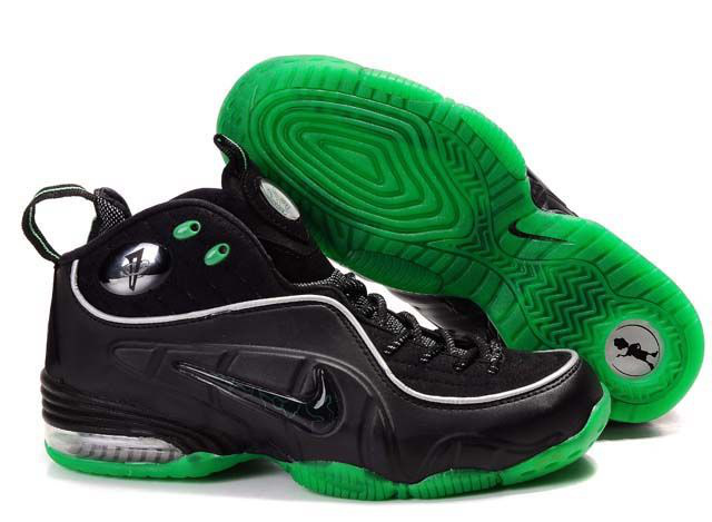 Air Flightposite Men's Shoes black/gray/green