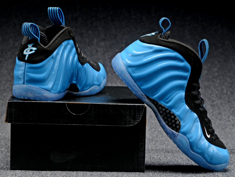Nike Air Foamposite One black/dodgerblue/white