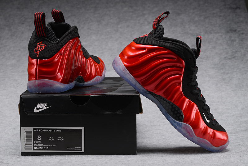 Nike Air Foamposite One Black/Red