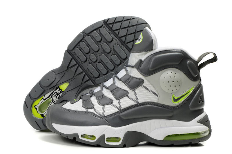 Ken Griffey JR 3 Shoes gray/white/lawngreen - Click Image to Close