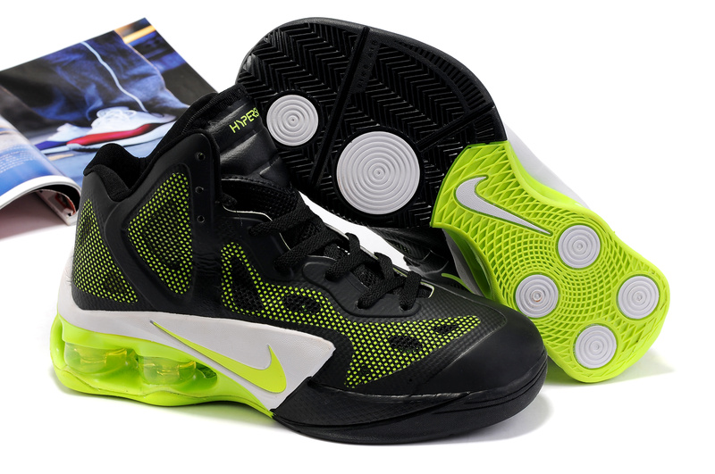 Nike Air Hypershox black/white/lawngreen