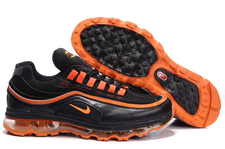 Nike Air Max 24-7 Sneakers black/orangered