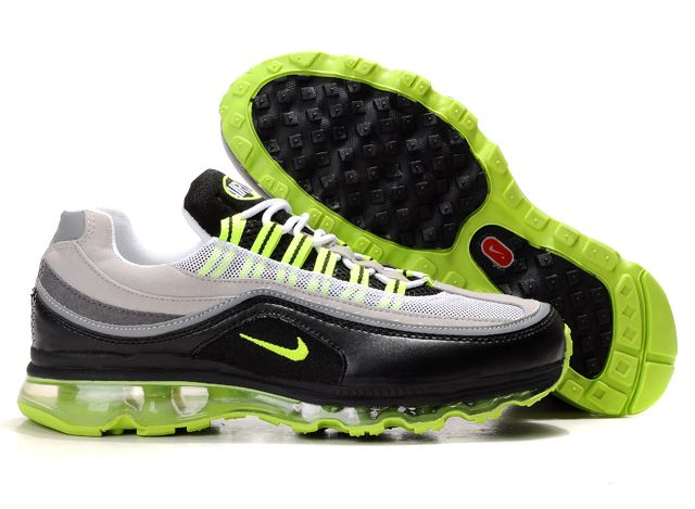 Nike Air Max 24-7 Sneakers black/gray/lawngreen