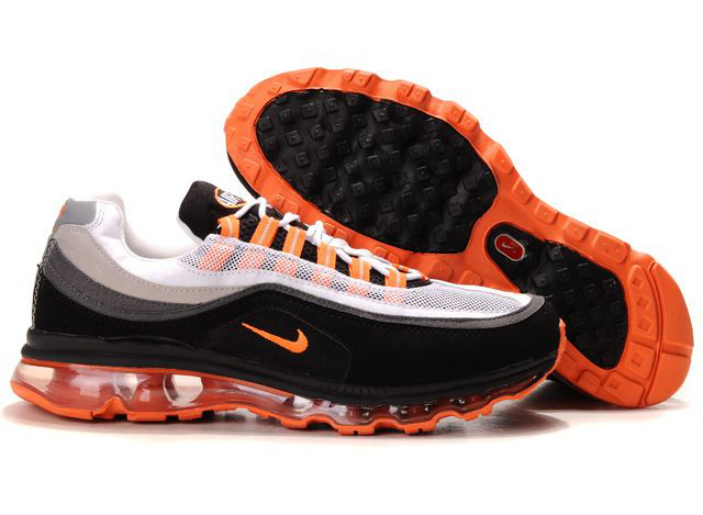 Nike Air Max 24-7 Sneakers black/gray/orangered