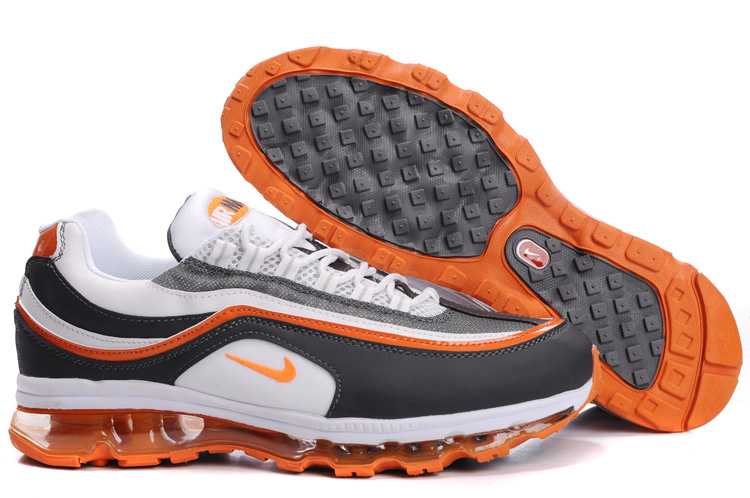 Nike Air Max 24-7 Sneakers slategray/white/darkorange