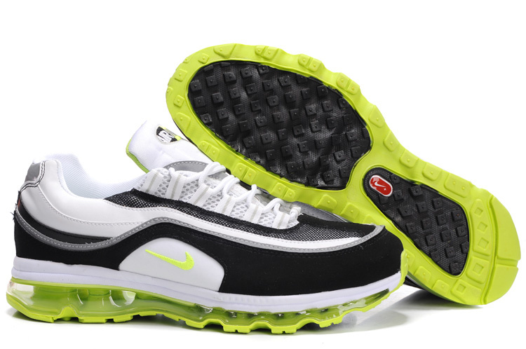 Nike Air Max 24-7 Sneakers black/white/lawngreen