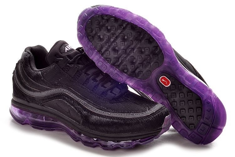 Nike Air Max 24-7 Sneakers black/darkviolet