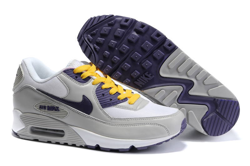 Womens Air Max 90 white/gray/darkslateblue