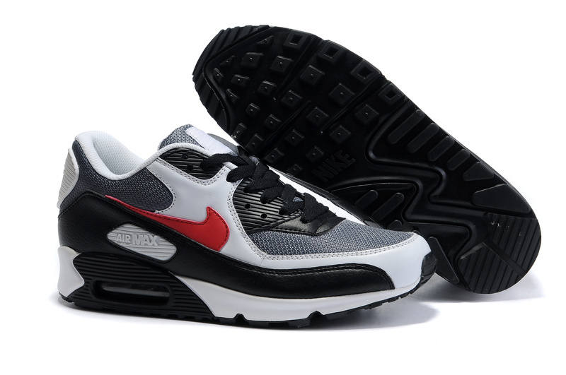 Air Max 90 black/white/red