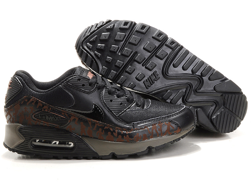 Air Max 90 black/sienna