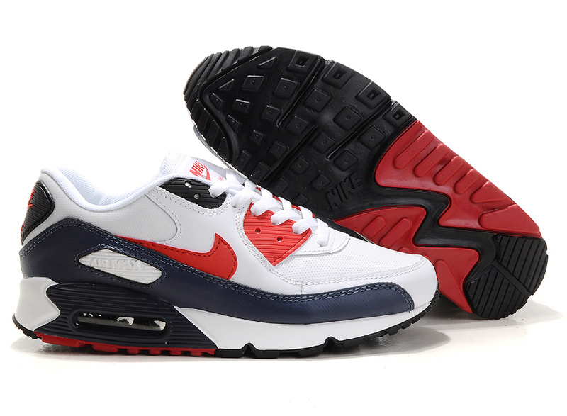 Air Max 90 black/white/red II