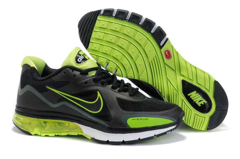 Nike Classic 2012 Shoes black/lawngreen