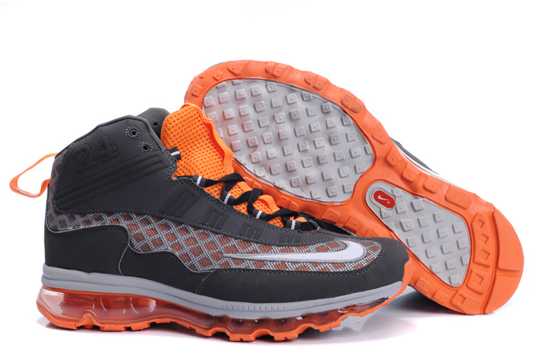 Nike Air Max JR Fall 2011 black/gray/darkorange