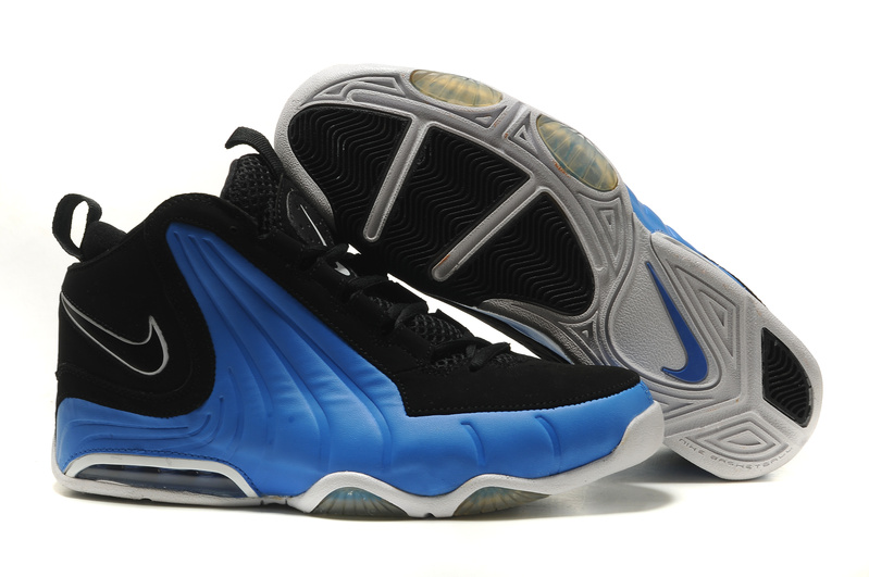 Nike Air Max Wavy Shoes black/white/blue