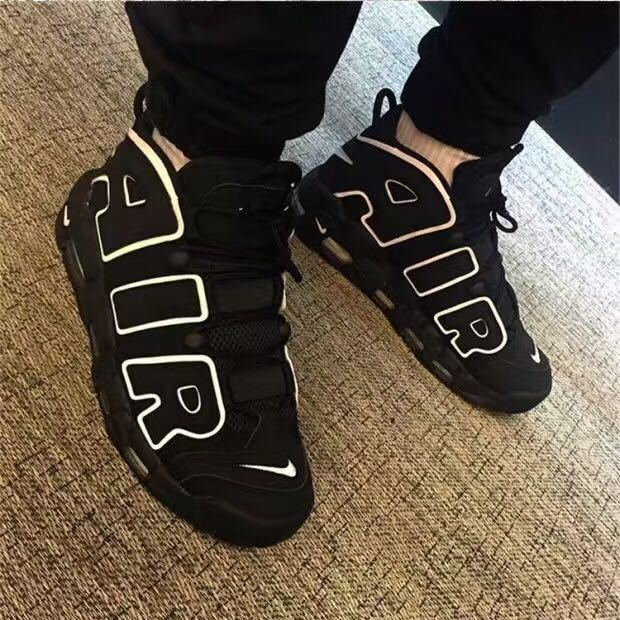 Nike Air More Uptempo QS black/White