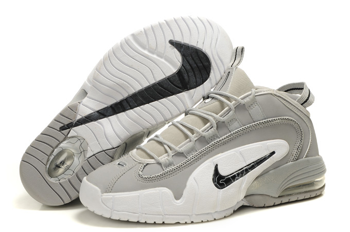 Nike Air Penny 1 Shoes white/gray