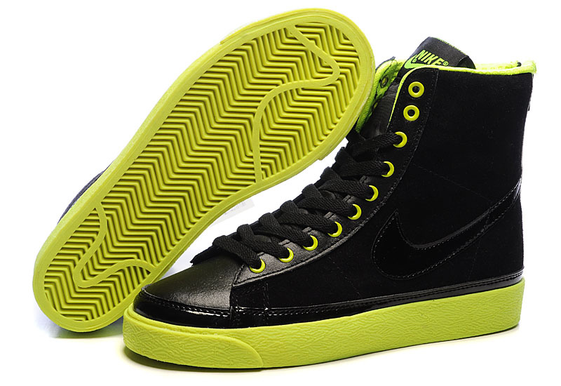 Nike SB Blazer Aqua Shoes black/lawngreen