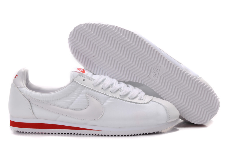 Nike Classic Cortez Shoes white/red II