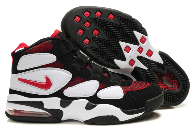 Nike Duke II Sneakers red/black/white