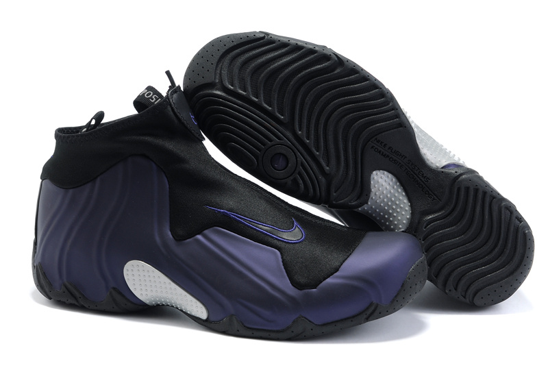 Nike Air Flightposite One balck/darkslateblue